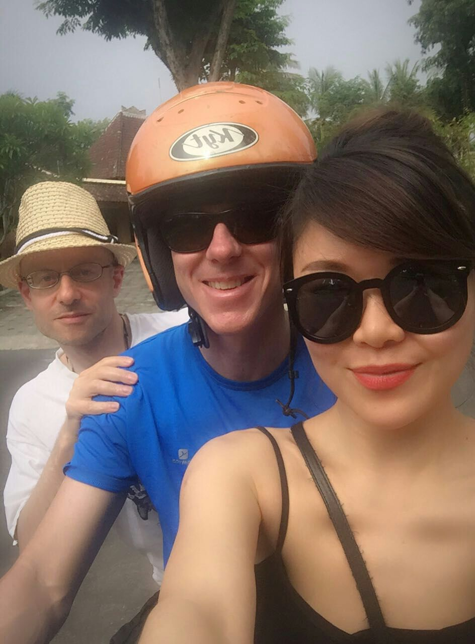 The 3 Amigos in Bali